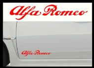 ALFA ROMEO CAR BODY DECALS